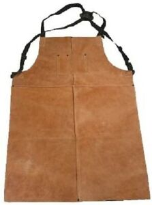 Shark Industries Brown Leather Welding Apron Large 24 X 36