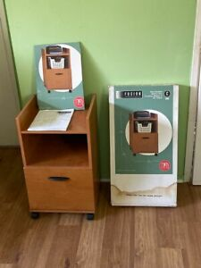Lot Of 2 One Drawer Fusion Mobile Filing Cabinets