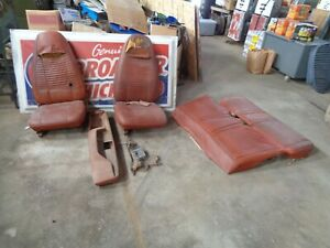 1970 Dodge Challenger Ft Rear Seats Console Shifter Rt Ta 440 426 Se 1971 1972