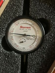 New Starrett Dial Indicator 25 131 626 authenticity Guaranteed