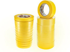 6 Rolls Of High Temp Automotive Yellow Masking Tape 3 4 X 60 Y
