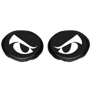 Off Road Kc Light Covers Fits Kc Lights 5 Inch Round Black Vinyl With Eyes Pair
