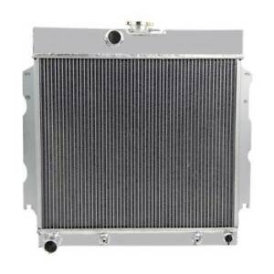 2 Row Aluminum Radiator For 1963 1968 Dodge plymouth Mopar V8 22 in Core Wide