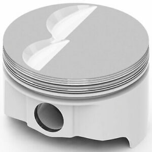 United Engine Machine Ic719 040 Ford 289 302 393ci Forged Pistons Flat Top 2v