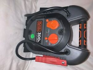 Black And Decker 300 Amp Portable Jump Starter J312b