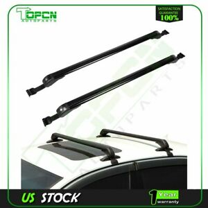 For 43 3 universal Car Cross Bar Car Carrier Roof Rack With Lock Luggage Cargo