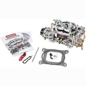 Edelbrock 19034 Avs2 Carburetor 500 Cfm Electric Choke Dual Quad Applications Sq
