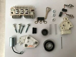 Alternator 10 12 Si Repair Rebuild Kit Delco Chevy Gm 1 Wire Self Exciting