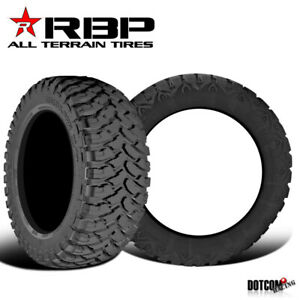 2 X New Rbp Repulsor M T Lt315 75r16 127 124q Performance Off Road Mud Tires