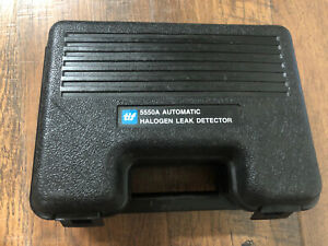 Tif 5550a Automatic Halogen Leak Detector With Case Manual