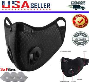 For Face Mask Activated Carbon Air Purifying Cycling Reusable Filter Haze Valve