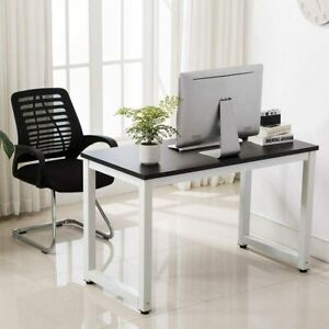Office Study Wood Computer Desk Workstation Laptop Table Furniture Home