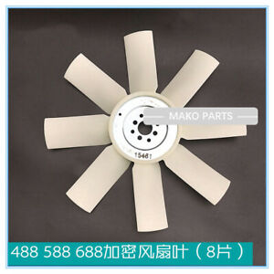 Fit Kubota Harvester Fan Blade 488 588 688
