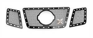 T Rex Grilles 6717811 X Metal Studded Mesh Grille 2008 2012 For For Nissan Titan