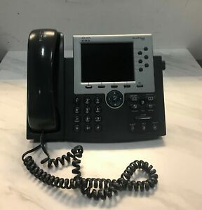 Cisco Ip Phone Cp 7965g Business Telephone 6 line Color Display G2