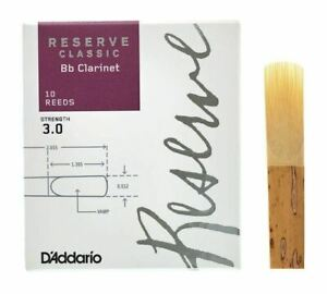 Reserve Classic Bb Clarinet Reeds  3  10-Pack