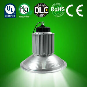 Led Shop High Bay Light 100 150 184 For Commercial Warehouse Garage Factory