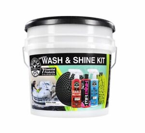 Chemical Guys Car Wash And Shine 7 Piece Kit Detailing Car Supplies Cleaning Kit