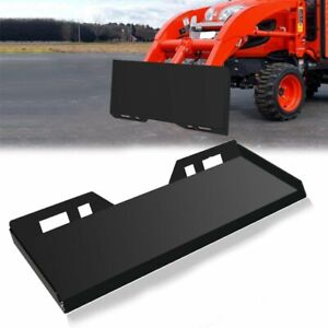 5 16 Skid Steer Quick Tach Attachment Mount Plate Adapter Loader Latch Box