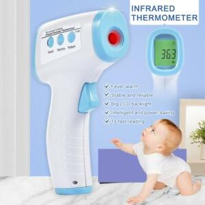 Led Digital Forehead Thermometer Non contact Infrared Baby Adult Temperature Gun