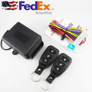 Car Truck Remote Control Keyless Entery System Central Door Lock Trunk Release