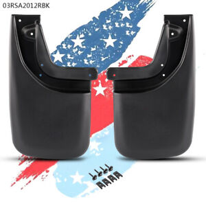 2x Mud Flaps Mud Guards Splash Guards Rear Molded For Toyota Tacoma 05 15 g