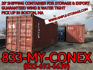 20 Shipping Container Cargo Worthy Boston Ma