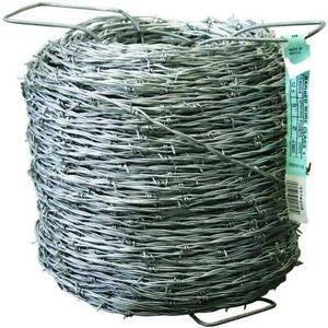 Farmgard Barbed Wire Fencing 1320 Ft 12 1 2 Gauge Galvanized
