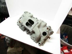 Original Chevrolet Big Block Chevy Sq Pt Intake Manifold Gm 3933163 396 427 454