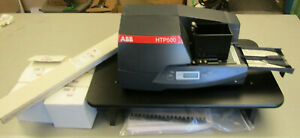 Abb Htp500 Wire Marker Thermal Printer Industrial Control Panel