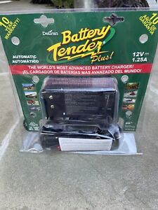 New Sealed Deltran Battery Tender Plus 12v 1 25a Automatic Battery Charger
