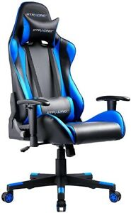 Gaming Office Chair Blue Or Red Choice