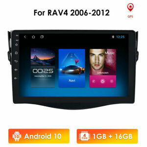 For Toyota Rav4 2007 2008 2009 2010 2011 Android 9 1 Car Stereo Radio Gps Mp5