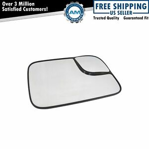 Towing Mirror Glass Heated Passenger Right Rh For 94 10 Dodge Ram Pickup Truck