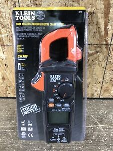 Klein Tools Cl700 600 Amp Ac True Rms Auto ranging Digital Clamp Meter With Temp