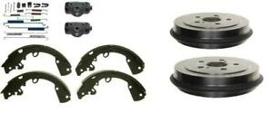 Brake Drum Shoes Wheel Cylinder Springs Ford Focus 2009 2011 Includes Bearing