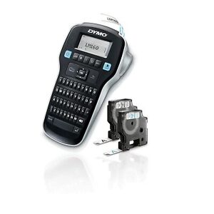Dymo Label Maker With 2 D1 Dymo Label Tapes Labelmanager 160 Portable Labe