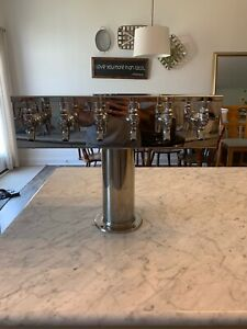 6 Tap Micro Matic 4 Draft Beer Tower Air Cooled