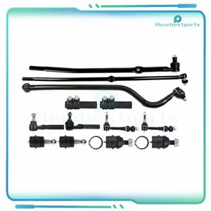Steering Parts Front Suspension Kit Fits Track Bar 2000 2001 13pc Dodge Ram 1500
