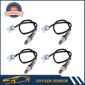 4x Direct Fit O2 Oxygen Sensor For Cadillac Seville Chevy Hummer Sierra Pickup