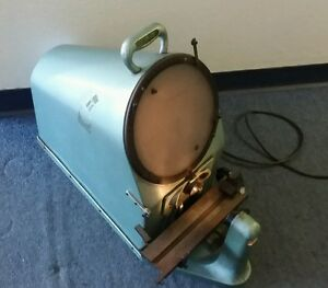 10 Rankin Brothers Bench Top Optical Comparator Model 1000 10x