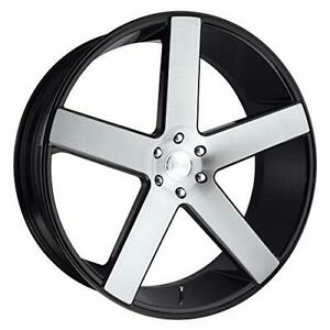 Dub S217 Baller Black Wheel Tpms 24 X 10 Inches 6 X 139 Mm 30 Inches Offset