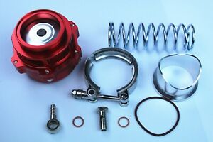 Red V Band Q Series 50mm Blow Off Valve Bov Fits Tial Flange Red