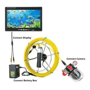 Pipe Inspection Video Camera 9 30m Dome Rotating Drain Sewer 0 360 Waterproof