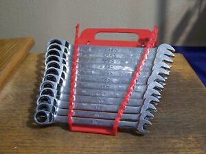 Mac Tools 12 Piece Metric Reversible Ratcheting Wrench Set 8mm 19mm