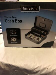 New Steelmaster 2216194g2 Tiered Tray Cash Box