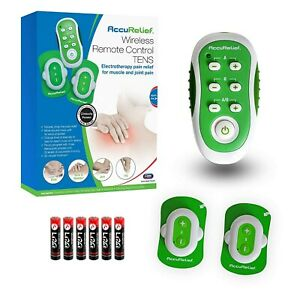 Accurelief Wireless Tens Unit With Remote Control Tens Machine Free Ship