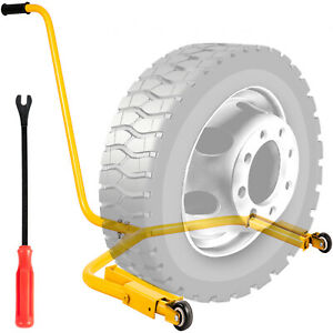 280 Lbs Tire Dolly Wheel Dolly Rugged Truck Tire Wheel Dolly Auto Tire Cart