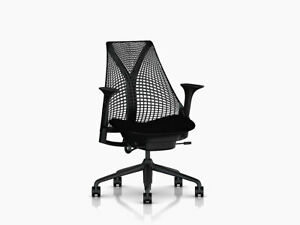 Sayl Chair By Herman Miller Basic Authentic Brand New Warranty Black