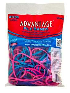 Rubber Bands Large Size 117b 7 X 1 8 Heavy Duty Made In Usa 1 4 Lb colored